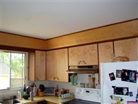 Kichen cabinet doors and valence - Steve's kitchen